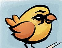 Fury bird