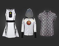 Valve: Portal Apparel for WeLoveFine