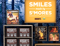 Smiles made by S'mores