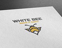 """Логотип и ФС """"White Bee"""""""