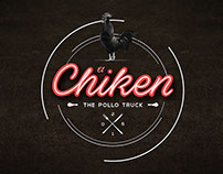 """Branding """"El Chiken"""" (The Pollo asado)"""