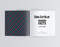 Illustration and Book Design - Cool Cat Blue