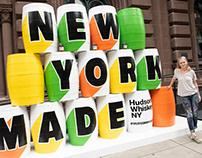 Hudson Whiskey installation