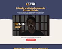 Página de vendas | Curso Re-crie