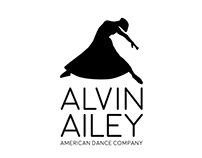Alvin Ailey American Dance Company: Example Identity