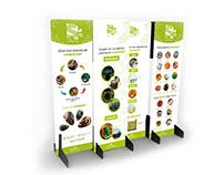 Diseño de paneles o pendones para Rutina Sustentable