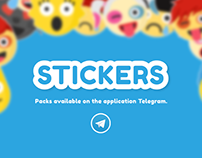 Stickers - Emojis // Flat Design //