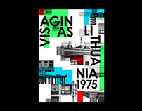Visaginas // Poster