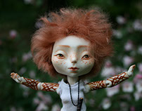 """Impy. Spirit of contradiction."" OOAK porcelai bjd"