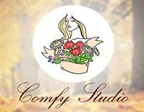 Comfy Studio identity