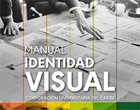 Manual Identidad Visual. CECAR.