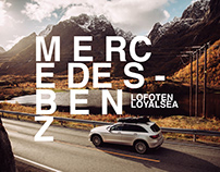 Lofoten Islands with Mercedes-Benz