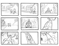 PSYCH Ice Cream Storyboard