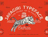 JA Jayagiri Typeface