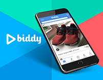 Biddy - UX/UI, Visual Branding