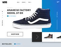 Vans website
