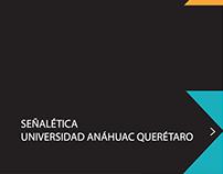 Señaletica Universidad Anáhuac
