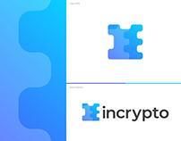 incrypto logo and brand identity