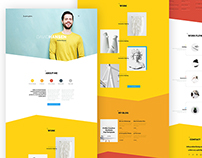 It'sMe - Creative Portfolio PSD Template 3