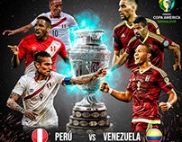 Copa América| Perú vs Venezuela