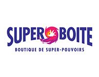 Super Boite - Boutique de super-pouvoirs