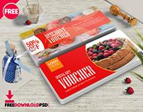 Food Discount Voucher Template