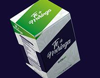 Tea of moringa branding
