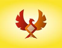 Логотип с изображением Феникса, как символ перерождения