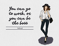 Sketch poster - The Boss by Hattu