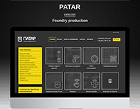 Website design and functionality for Patar company