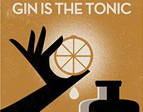 Vintage drink adverts