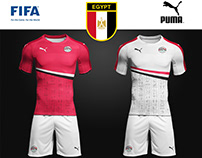 "Egypt National Football Team Shirt 2018 "" Puma """