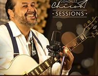 "Diseño de arte para CD+DVD ""Sessions"" de César ""Chico"""