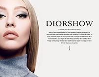 Diorshow minisite