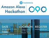 Amazon Alexa Hackathon Flyer
