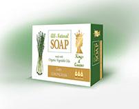 Packaging Design for Natural Soap