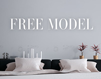 FREE MODEL - CASSINA BED