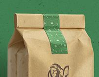 Quatorze Bis - Snack Bar Brand identity