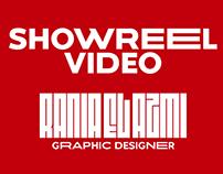 Showreel Video - Graphic Designer
