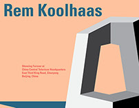 Rem Koolhaas Mock Posters