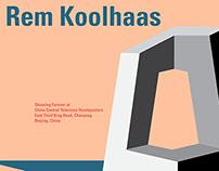 Koolhaas Posters
