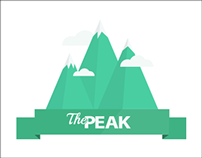 The Peak Logo Design