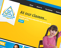 First Class Learning – a fully responsive site
