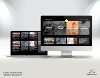 Website Mockup | LH.org