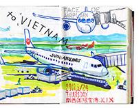 Sketch | travel at VIETNAM