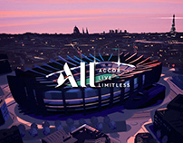 Re-discover with ALL x Paris Saint-Germain