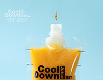 CoolDown酷打果吧-MINILOOK果汁饮品海报缩微摄影 fruit juice drink