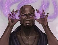 Psychic Headshot - Legendary Games Illustration