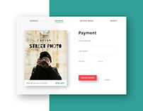 Daily UI #002 - Credit Card Checkout, AirBnb