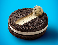 Oreo/Snickers ice cream ads
